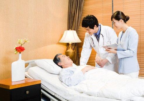 家庭护理病人现场